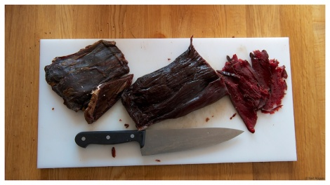 Lightly smoked Moose and Reindeer