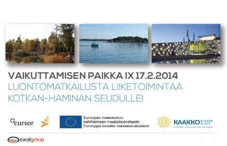 KAAKKO135 Seminar Finland
